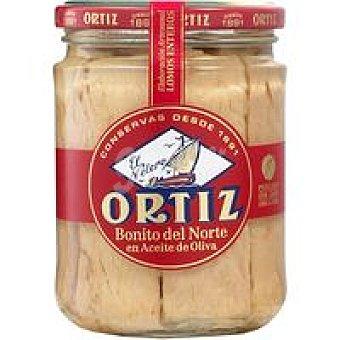 Ortiz Bonito del norte en aceite de oliva Frasco 400 g