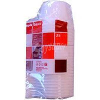 Nupik Taza de plástico 200 cc Pack 25 unid