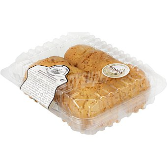 Garpe Cookies de mantequilla y almendra rellenas de chocolate blanco blister 300 g