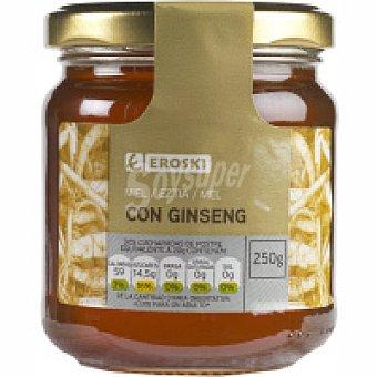 Eroski Miel con ginseng Tarro 250 g