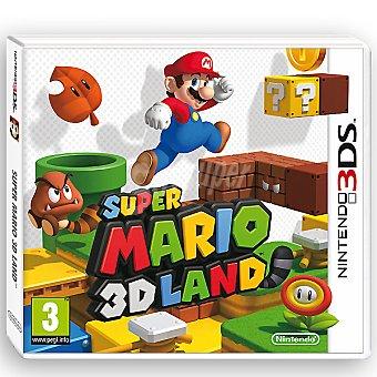 NINTENDO Videojuego Super Mario 3D Land para 3DS 1 Unidad