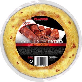 Palacios Tortilla de patata con chorizo Envase 500 g