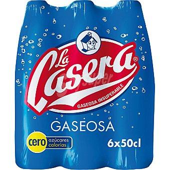 La Casera Gaseosa Pack 6x50 cl