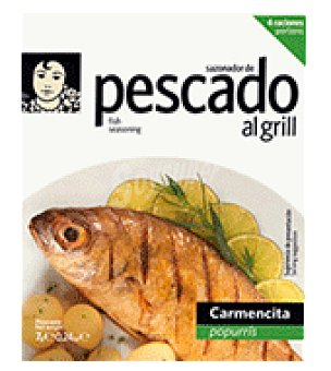 Carmencita Sazonador grill pescados 52 g