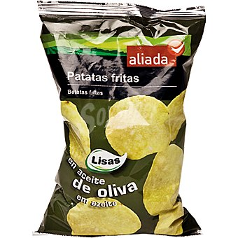 Aliada Patatas fritas en aceite de oliva Bolsa 150 g