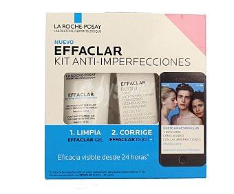 La Roche-Posay Kit anti imperfecciones limpia y corrige Effaclar de 50 mililitros