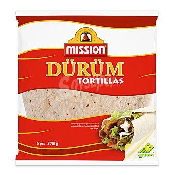 Mission Tortillas de trigo especiales para hacer durum Envase 378 g (6 uds)