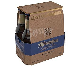 Alhambra Cervezas sin alcohol Pack de 6 uds x 25 cl