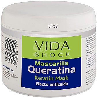 VIDA SHOCK Mascarilla Queratina efecto anticaída Tarro 500 ml