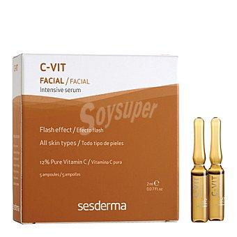 Sesderma Tratamiento de Choque efecto flash ampollas c-vit Pack 5x2 ml