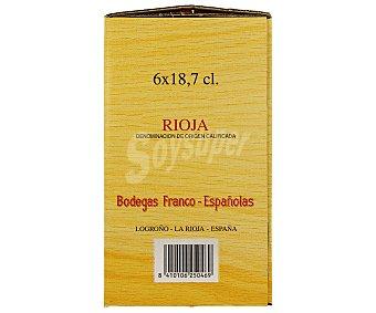 Rioja Bordón Vino Tinto Botella 6 unidades