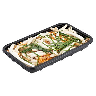 Setas del mundo Setas frescas de cultivo surtidas kinoko (incluye zanahoria, cebollino, salsa soja y palillos) Paquete 220 g