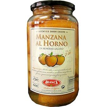 Aranca Manzanas al horno en almíbar Frasco 600 g neto escurrido