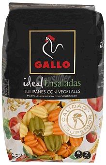 Gallo Tulipanes con vegetales Paquete 500 g