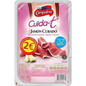 Campofrío JAMON CUR.RED.SAL CUID-T 110 G