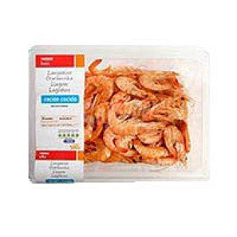 Eroski Basic Langostino cocido 80-100 bandeja 500 g