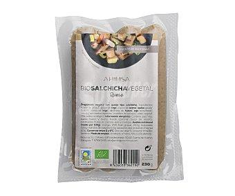 Ahimsa Preparado vegetal con queso tipo salchicha 230 gramos