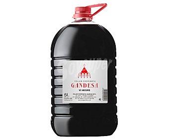 GANDESA Vino tinto de mesa sin denominación de origen Garrafa de 5 l