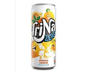 Trina Refresco de naranja sin azúcar ni gas Lata de 33 cl