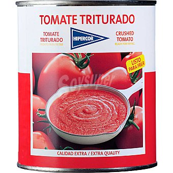 Hipercor Tomate natural triturado Lata 800 g