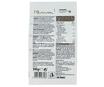 Mmm Auchan Cavatappis pasta de sémola de trigo duro de calidad superior al tomate y albahaca 500 Gramos