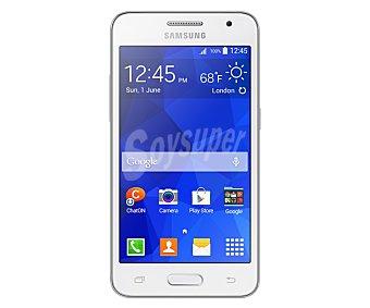 "SAMSUNG GALAXY CORE 2 Smartphone libre G355, procesador: Quad Core 1.2 ghz, Ram: 728Mb, almacenamiento: 4GB ampliable mediante microsd, pantalla: 4.5"" 480x800px, cámara: 5.0Mp, gps, Wifi, dual sim, Android 4.4,"
