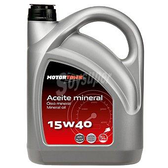 MOTORTOWN 15W40 Aceite mineral de motor para automóvil 5 l