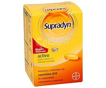 SUPRADYN Complemento alimenticio con vitaminas y minerales con coenzima Q10 para aumentar la energía interior, 30 Comprimidos