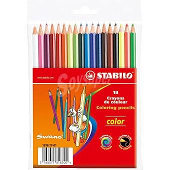 Stabilo Lápices de colores Estuche con 18 unidades