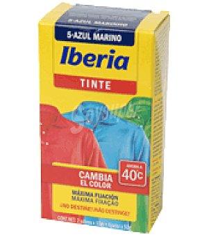 Iberia Lava y tiñe azul marino recuperador del color de la ropa en sobres Pack de 2x20 g