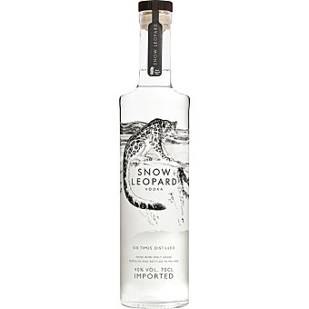 SNOW LEOPARD Vodka premium 40% volumen botella 70 cl Botella 70 cl