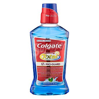 Colgate Total Enjuague bucal Total protección contra la placa bacteriana 500 ml