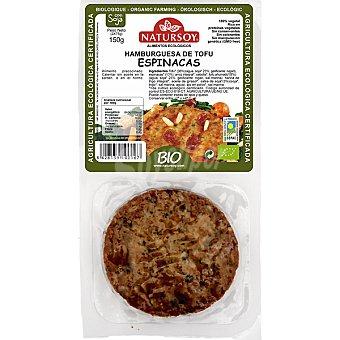 Natursoy Hamburguesa de tofu y espinacas Pack 2 unidades (150 g)