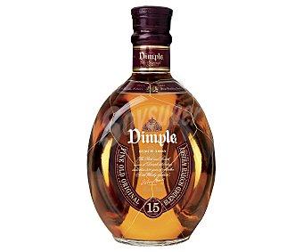 Dimple Whisky blended escocés de 15 años botella de 70 cl