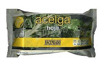 Hacendado Acelga hojas 2 porciones congelada Paquete 450 g