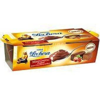La Lechera Nestlé Mini crema praliné Pack 2x70 g