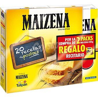 MAIZENA maizena  pack 2 paquete 400 g