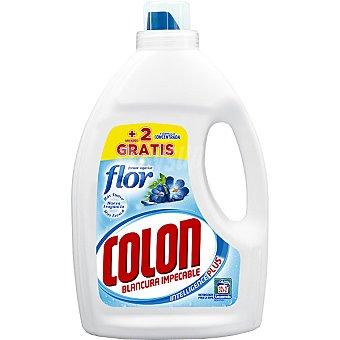 Colón Detergente máquina líquido gel Toque de Flor concentrado Botella 32 dosis