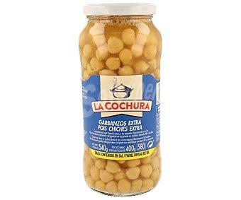 LA COCHURA Garbanzo cocido sin sal Tarro de 400 g