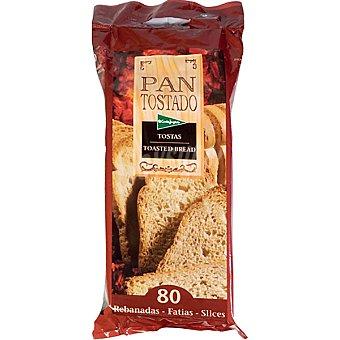 El Corte Inglés pan tostado 80 rebanadas Paquete 720 g