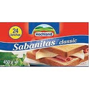 Sabanitas Queso fundido Sobre 450 g