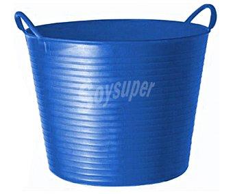 ALTUNA Cubo flexible multiuso de plástico virgen de color azul y para uso alimentario 1 unidad