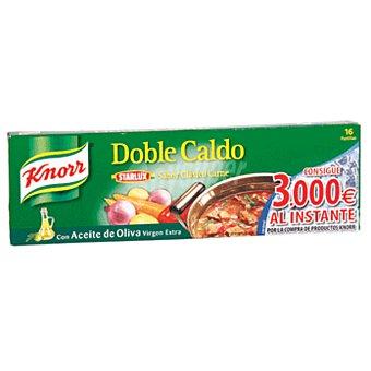 Knorr Doble caldo carne estuche 16PAS