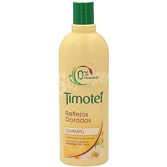 Timotei Champú con camomila natural, para cabellos rubios o con mechas reflejos dorados 400 ml