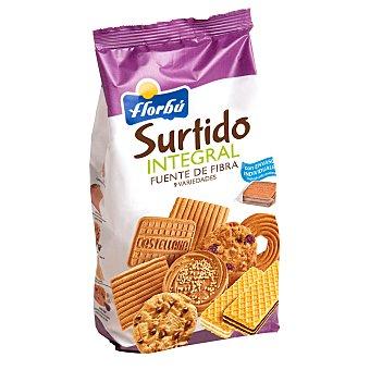 Florbú Surtido de galletas integrales Bolsa 420 g