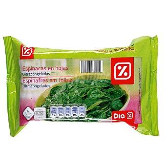 DIA Espinacas congeladas Envase 400 gr