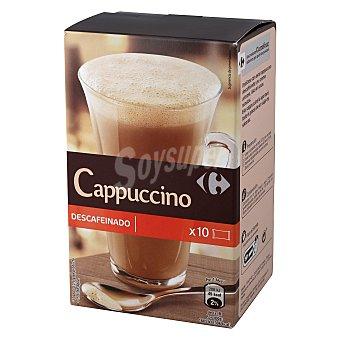 Carrefour Café soluble mezcla descafeinado 125 g