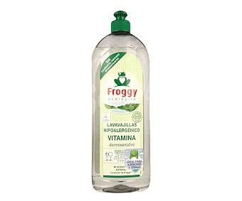 Froggy Lavavajillas a mano hipoalergénico y ecológico (ideal para biberones y tetinas) 750 ml