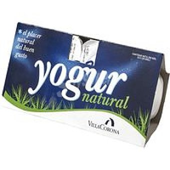 Villacorona Yogur natural Pack 2x125 g
