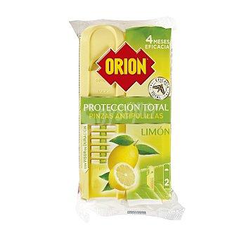 Orion Pinza antipolillas protección total perfume limón Bolsa 2 u